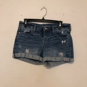 Old Navy Boyfriend Jean Shorts Size 6